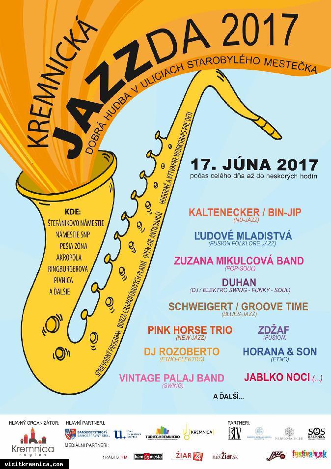 Kremnická JAZZda 2017 / festival
