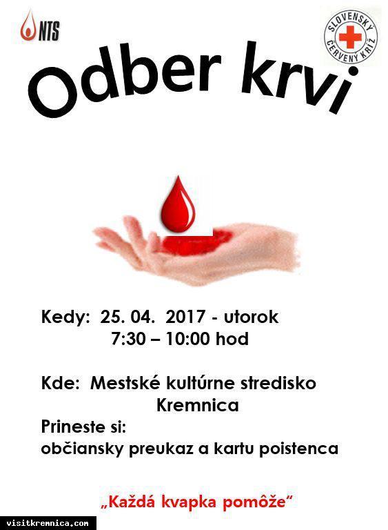 Odber krvi