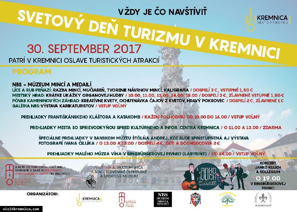 Svetový deň turizmu v Kremnici